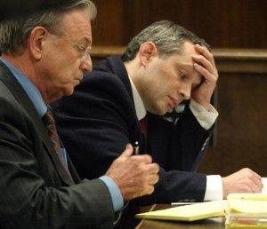 Hans Reiser durante el juicio