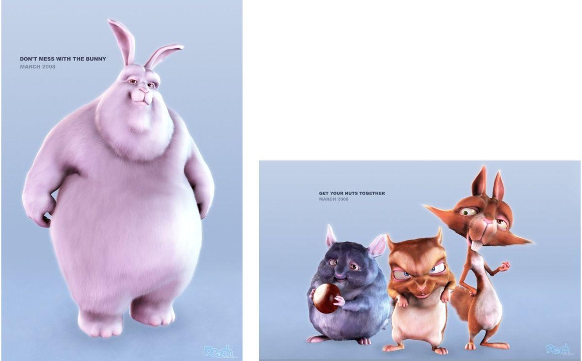Big Buck Bunny y Cia.