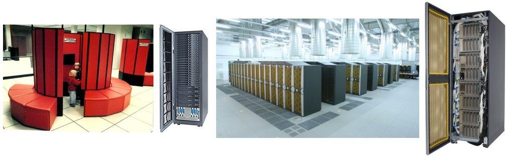 NUMA, clusters, procesadores vectoriales, ...