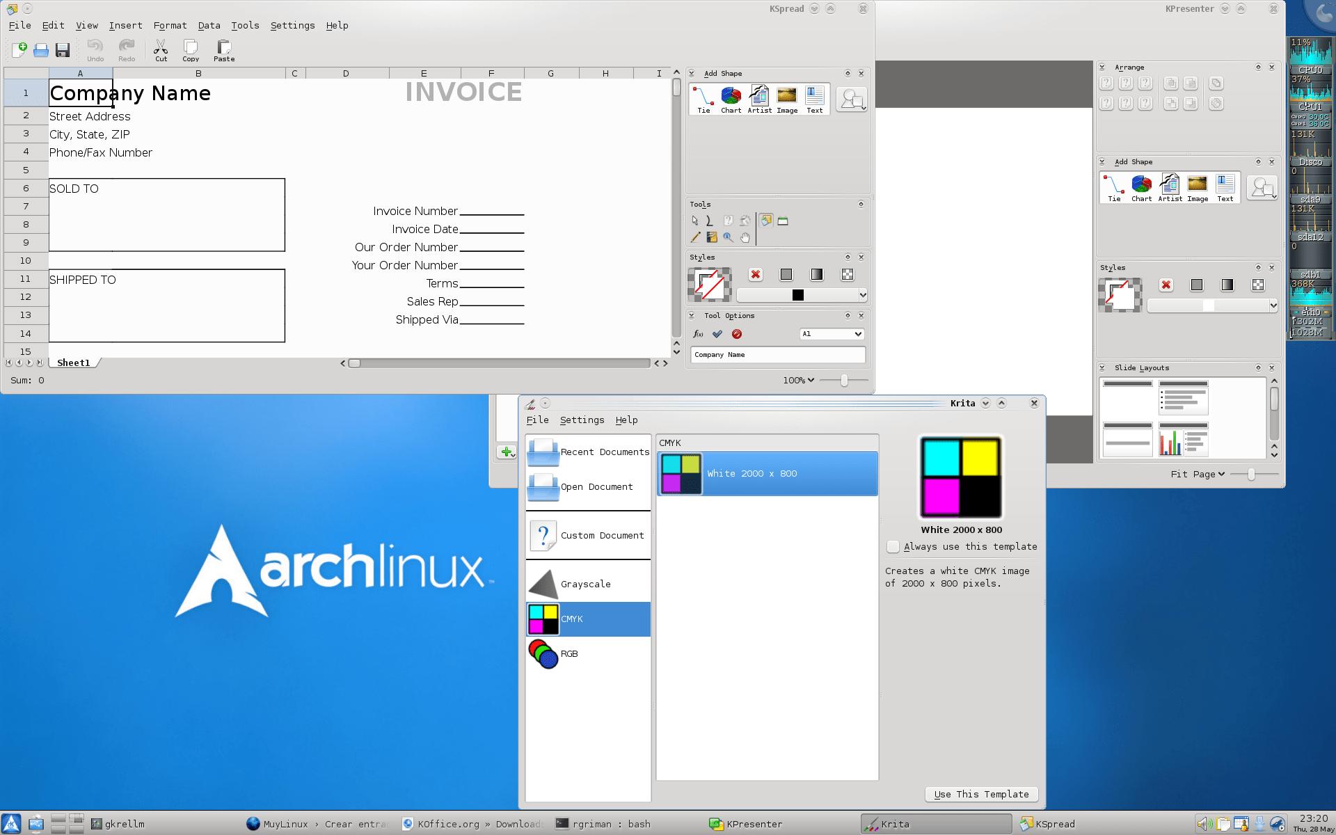 KOffice 2.0.0