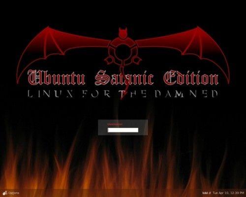 ubuntu-satanic