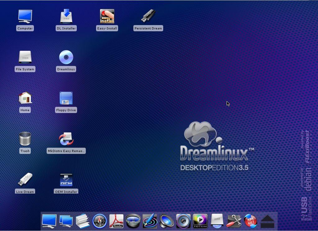 Dreamlinux 3.5 1