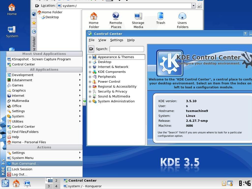 Slackware 12.2 0