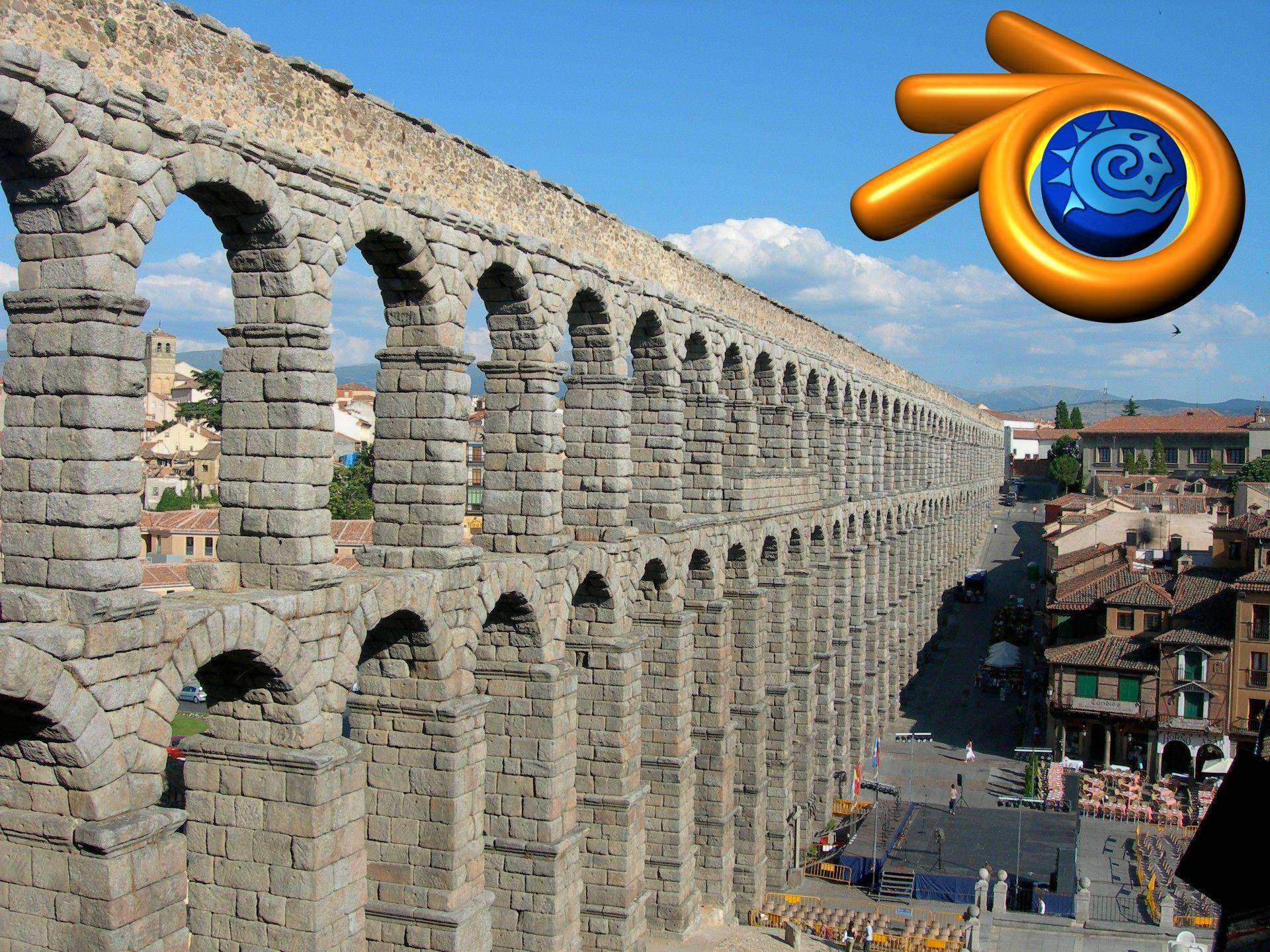 Segovia y Blender