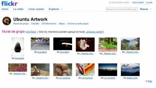 Fondos Flickr Ubuntu 9.10