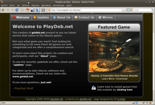 PlayDeb 1