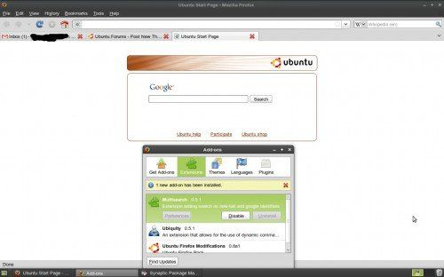 Ubuntu Firefox Multisearch