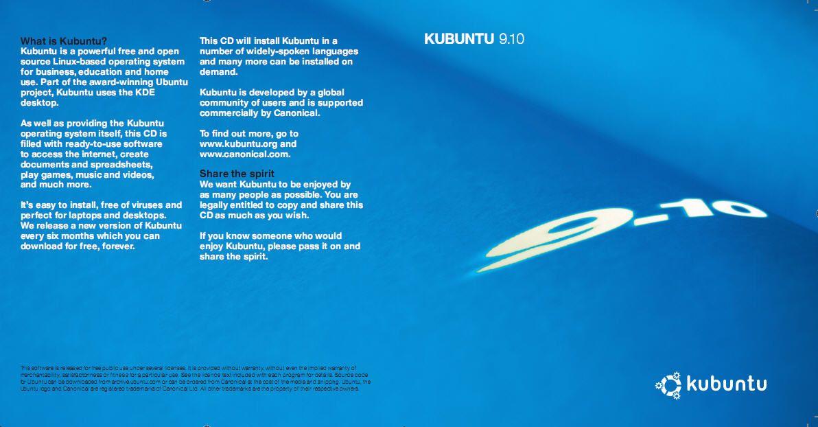 Kubuntu 9.10 Wallet 1