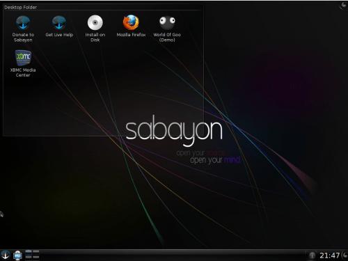 Sabayon 5.o KDE