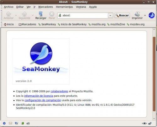 SeaMonkey 2.0 1