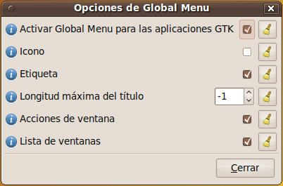Global Menu - durante 3