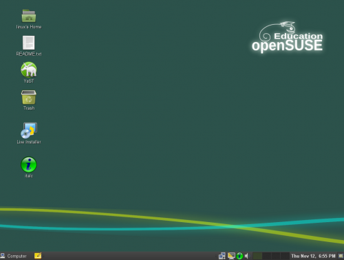 openSUSE Edu Li-f-e 2
