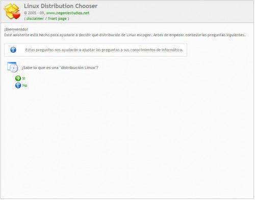 LinuxDistributionChooser