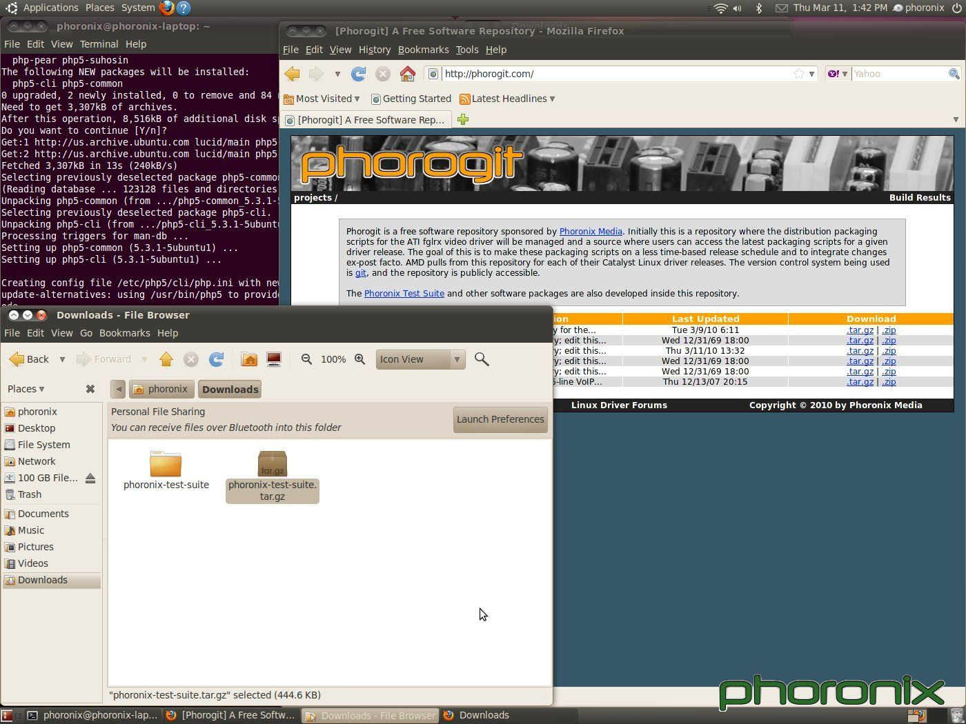 Phoronix Test Suite » MuyLinux