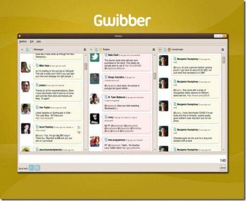 Twitter en Linux: clientes para todos