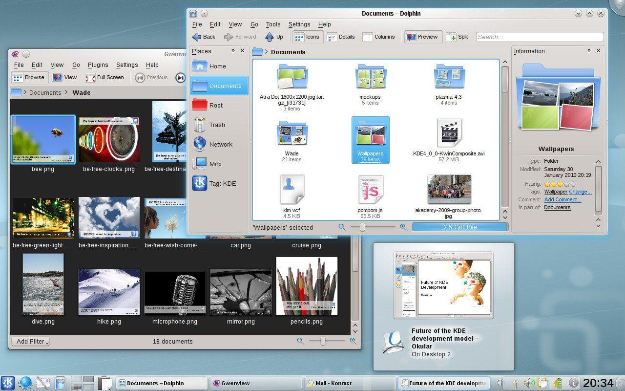 KDE-4.4.3.general-desktop