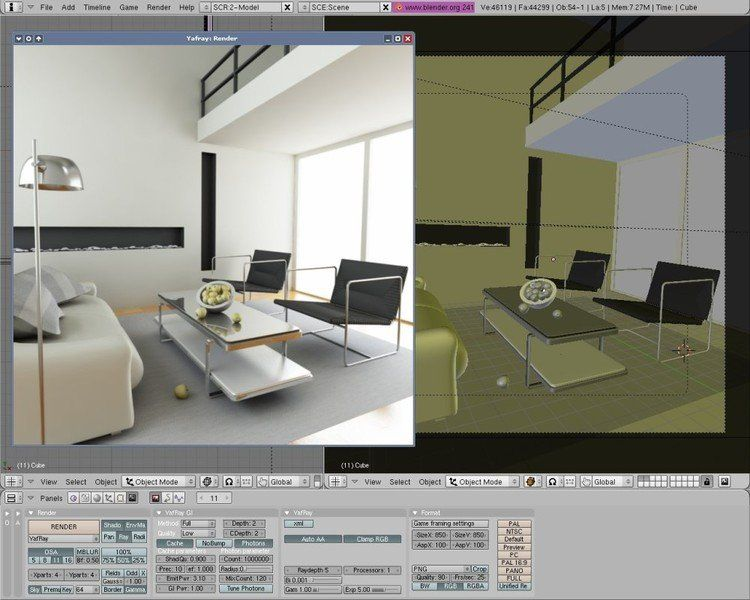Blender 3d foro de discussion for Programa gratis para disenar casas en 3d