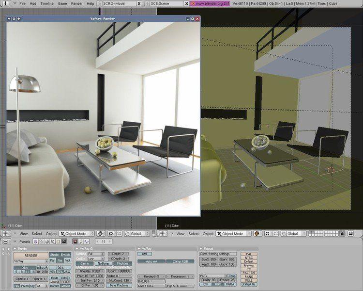 Quieres aprender a usar blender desde cero muylinux for Programma casa 3d