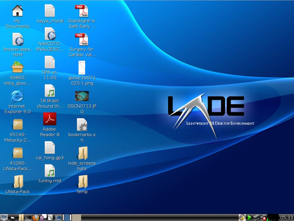 LXDE-openSUSE
