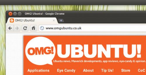 Tema Ambiance para Chrome/Chromium en Ubuntu 10.10 Maverick Meerkat
