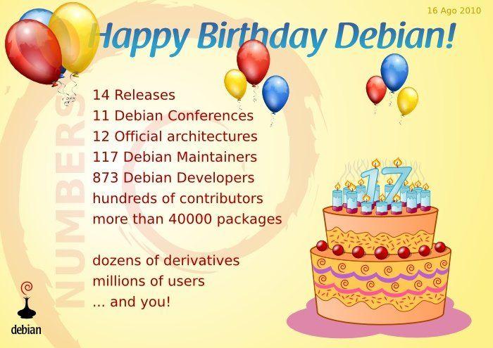 DebianTurns17