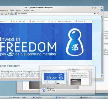 KDE-4.5-desktop
