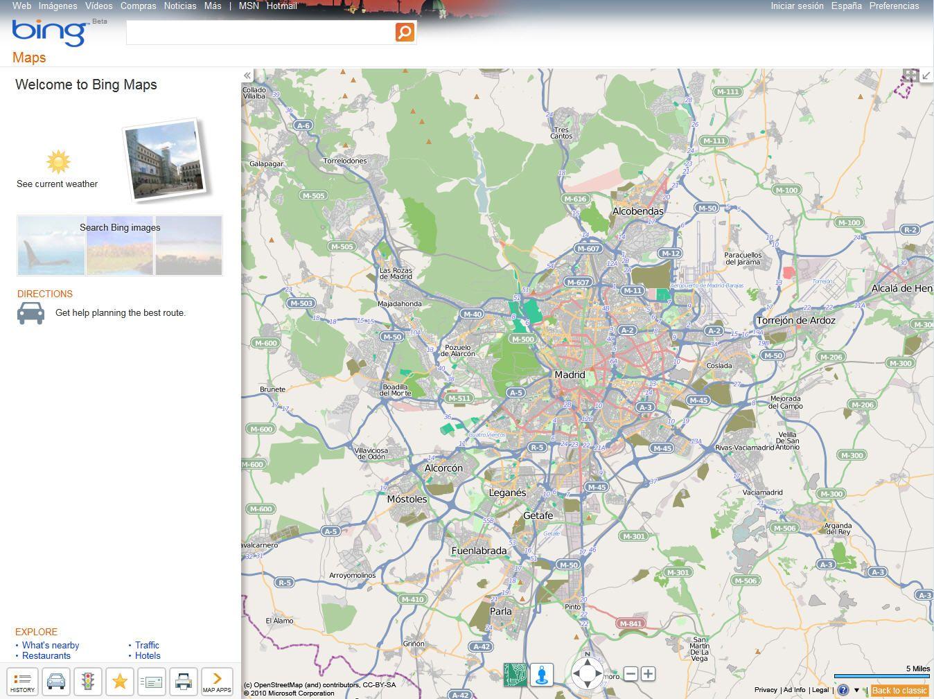 OpenStreetMap-BingMaps