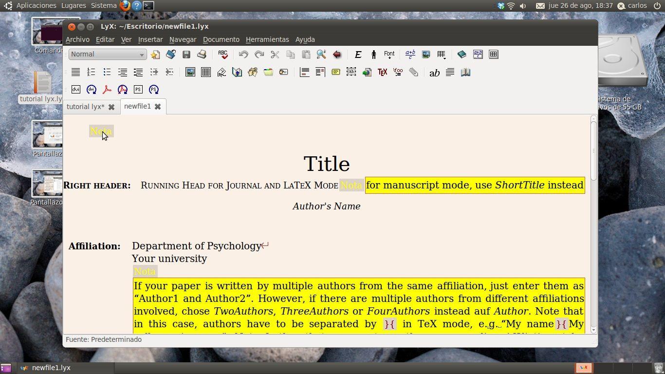 descargar formato apa para word
