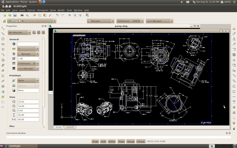 DraftSight_Linux