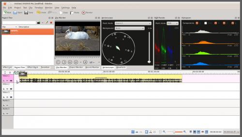 Edición de vídeo en Linux: avances en todos los frentes