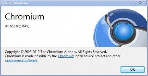 Chromium 9 para desarrolladores