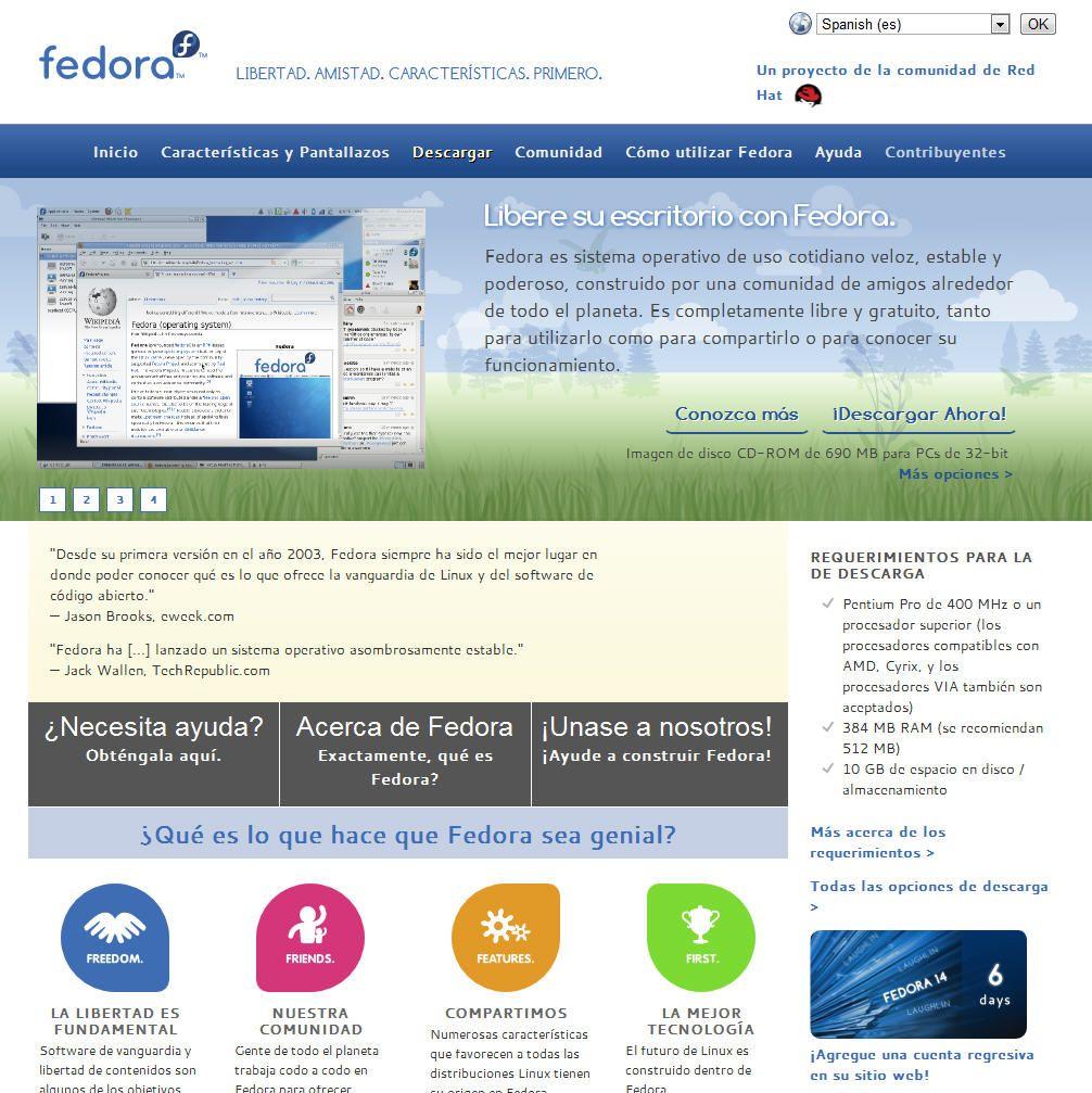 Fedora-web