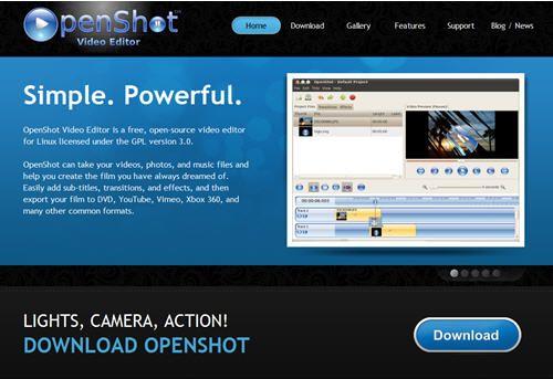 OpenShotWeb