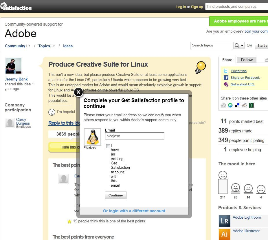 Adobe-Linux