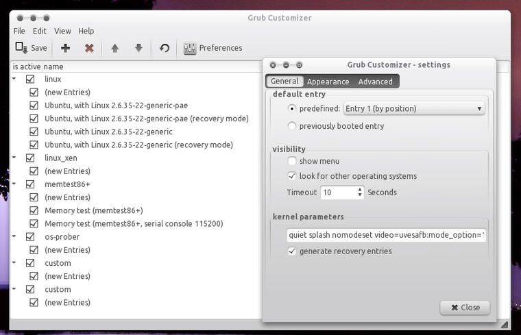 Grub-customizer0
