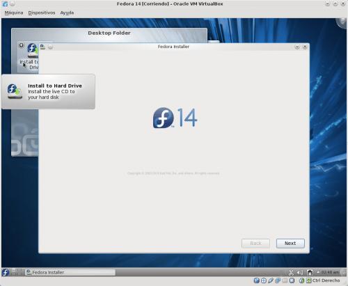 Fedora 14 Install