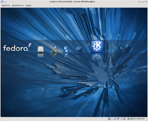 Fedora 14 Splash