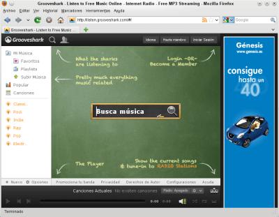Firefox-Grooveshark