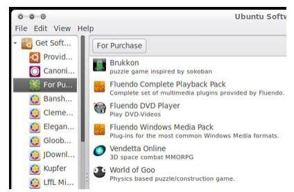 El Centro de Software Ubuntu va añadiendo soft comercial » MuyLinux