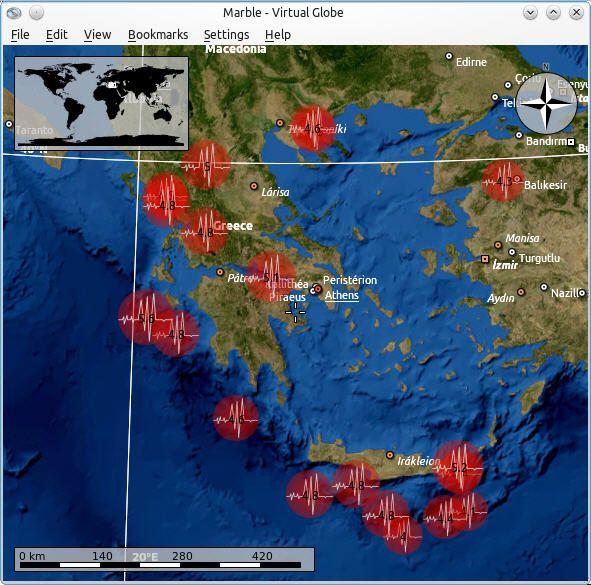 Marble-terremotos