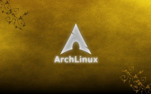 Archlinux_yellow