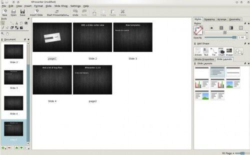 KOffice 2.3.0 lanzado