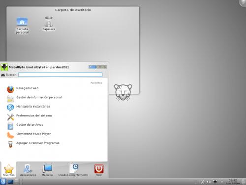 Pardus 2011 - KDE