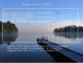 Arranca con una imagen ISO desde GRUB2