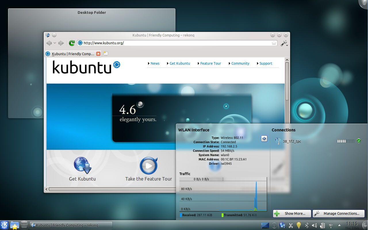 Kubuntu11.04.