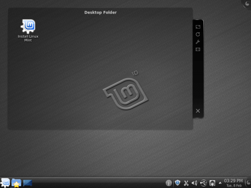 Linux Mint 10 KDE RC