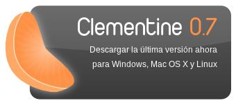 Descargar Clementine 0.7