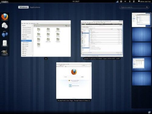 GNOME3 500x375 GNOME 3 estará disponible el 4 de abril