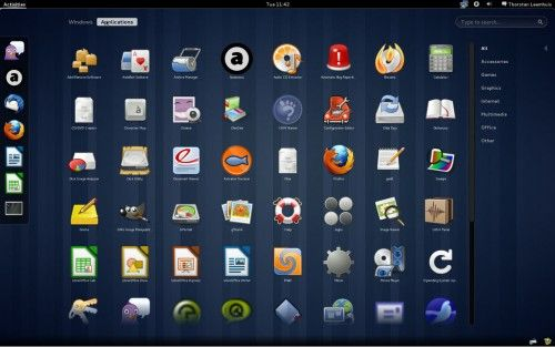 GNOME 3.0 Beta 2 (or GNOME 2.91.91, as developers call it) involves changes