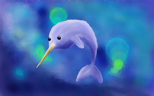 5527647058 d7cfe376f5 6 narwhals house hunters (wallpapers for Ubuntu 11.04)
